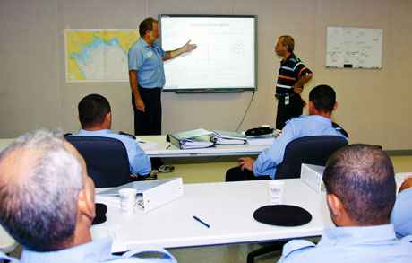 VSD instructor teaching in classroom